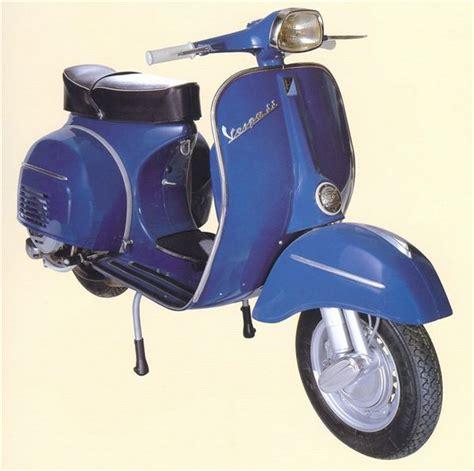 Scoot Biru vespa 180 ss
