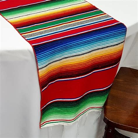sarape table runners decorative table decoration