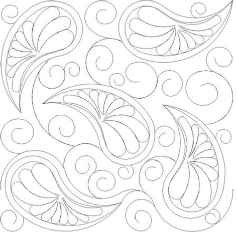 Digitized Quilt Patterns by Shop Category Feathers Pearls Curls Product