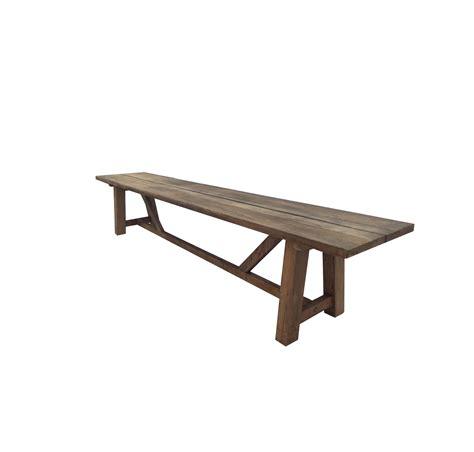 reclaimed teak bench reclaimed teak bench 94 quot w