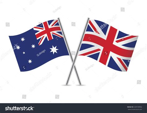Email Address Finder Australia And Australian Flags Vector Illustration 228728956