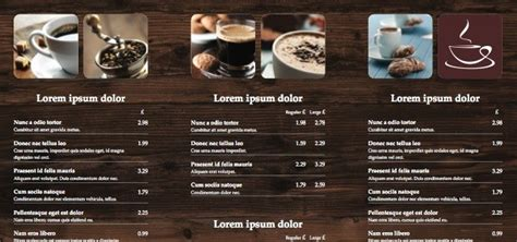 Mac Home Design Software tri fold leaflet cafe menu istudio publisher page