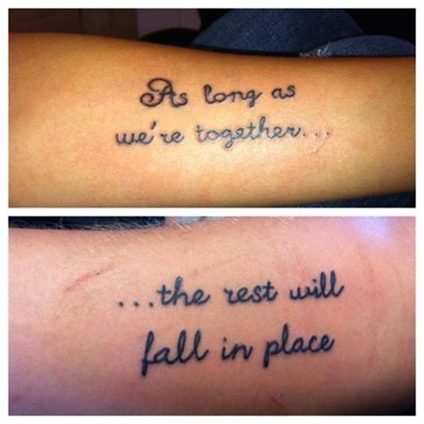 tattoo quotes for partners 26 matching tattoo ideas for couples love this design