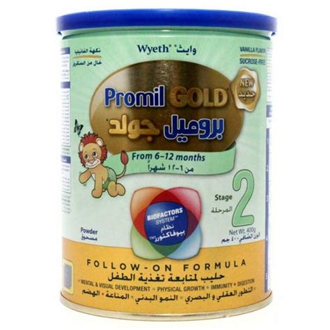 Formula Wyeth Wyeth Promil Gold Stage 2 Baby Food Follow On Formula