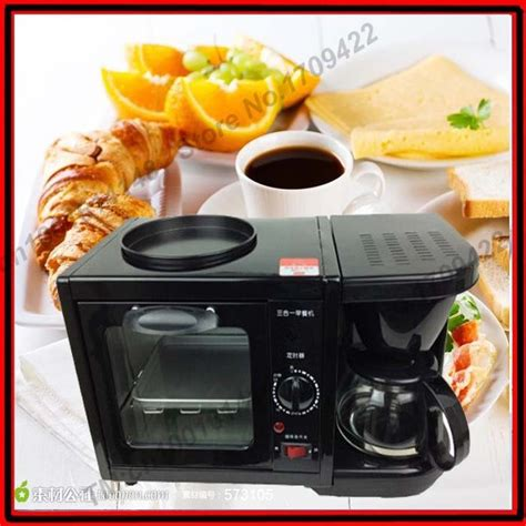 Aroma Breakfast To Go 3 In 1 Toaster Oven Grill Coffee Maker by 3 In 1 Breakfast Maker Coffee Maker Frying Pan Toaster