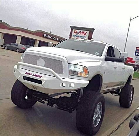 decked  truck  white classic tricked  trucks