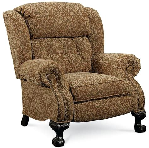 lane hton hi leg recliner hi leg recliners magnate traditional high leg recliner by