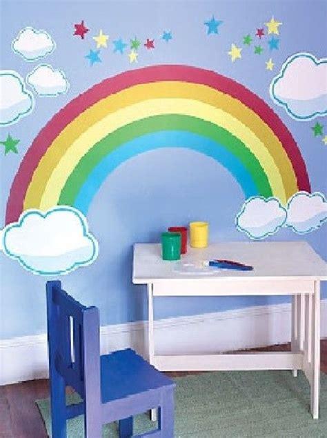 rainbow wallpaper for room best wall mural decorating scheme wallpaper murals mural rainbow bedroom room