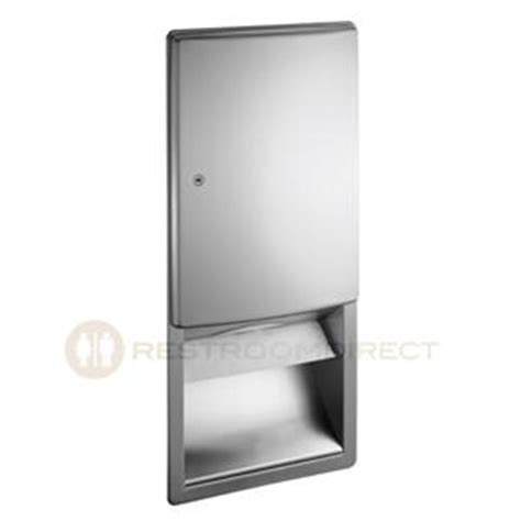 C Fold Vs Multifold Paper Towels - asi roval 20452 recessed paper towel dispenser c fold