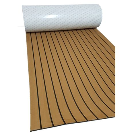 boat flooring faux teak melors eva faux teak boat flooring swim platform pad