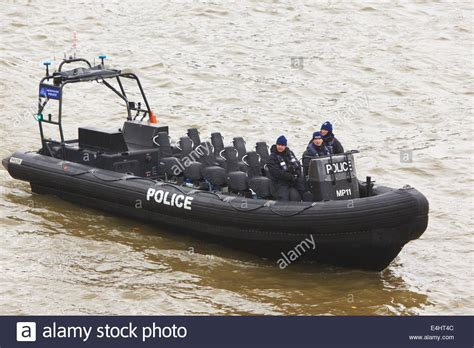 thames river cruise rib police rigid inflatable boat or rib on the thames river in