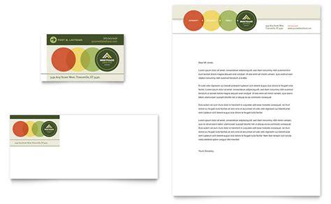 Mortgage Broker Business Card Letterhead Template Design Mortgage Postcard Templates