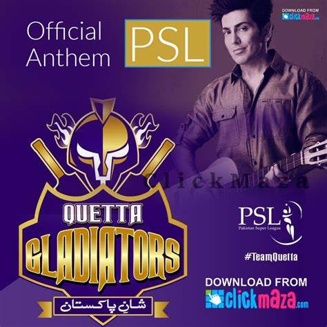film gladiator mp3 quetta gladiator official song download