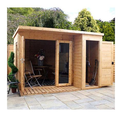 Mercia Sheds by Mercia Garden Room With Side Shed Oldrids Downtown