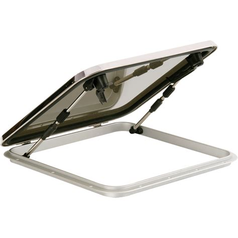 large boat hatches bomar voyager series stainless steel hatches west marine