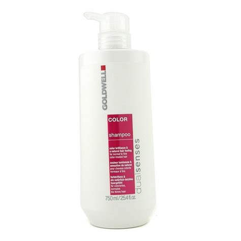 Shoo Goldwell hair products for color treated hair goldwell dual senses color shoo for normal to