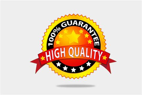 High Quality by Free Vector Icon High Quality Guarantee Badge By Melaychie