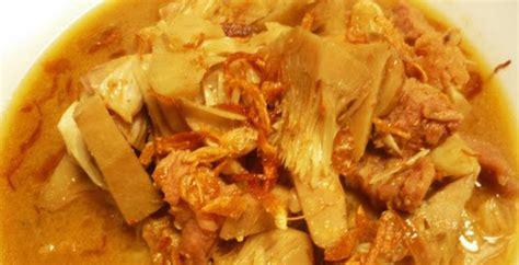 resep masakan  membuat sayur nangka