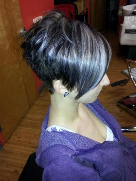 exles of funky high lights for short hair 24 best images about silver highlights on pinterest