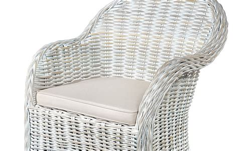 white wicker armchair white rattan armchair rattan