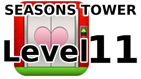 100 Floors Level 41 Tower - 100 floors level 11 s special seasons