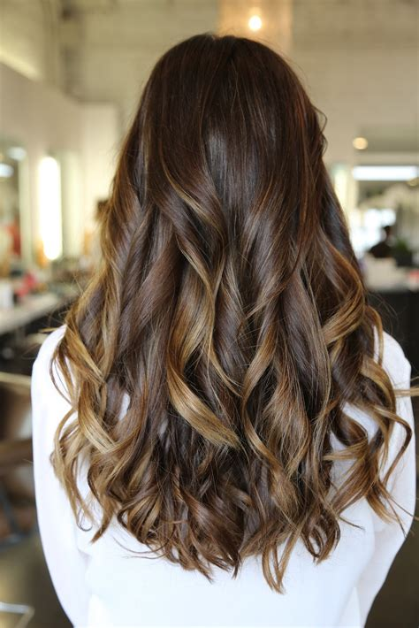 hairstyles brown hair with caramel highlights rich brunette and caramel highlights neil george