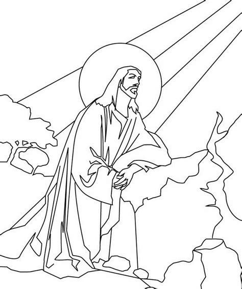 Ascension Of Jesus Christ Coloring Pages Family Holiday Coloring Page Of Jesus