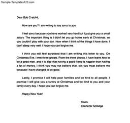mistake letter templates samples and templates