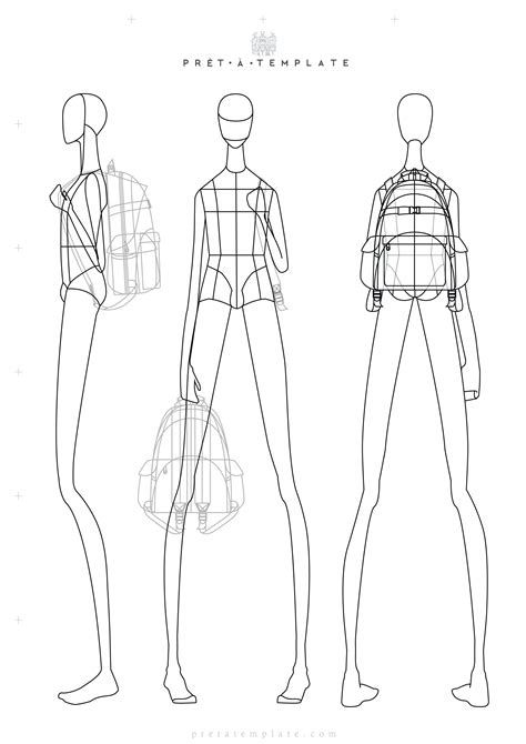 fashion sketchbook with templates croqui figure fashion template d i y your own