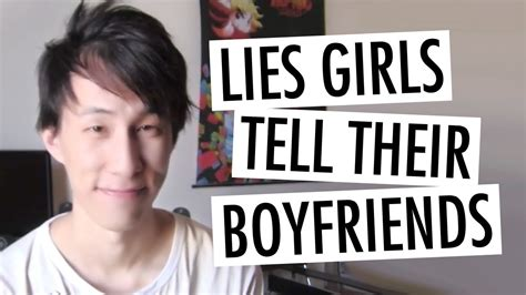 10 Lies He Will Tell by Top 10 Lies That Tell Their Boyfriends
