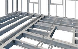steel floor framing plan light gauge steel floor system design in revit 174 metal