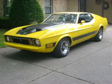 1973 ford mustang sportsroof fastback mach 1 burnt orange for sale used cars for sale sell used 1973 mustang mach 1 sportsroof v8 351 cleveland c 6 automatic in indiana