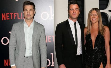 Brad To Jen Dump Your New by Aniston Did Not Dump Justin Theroux For Brad Pitt