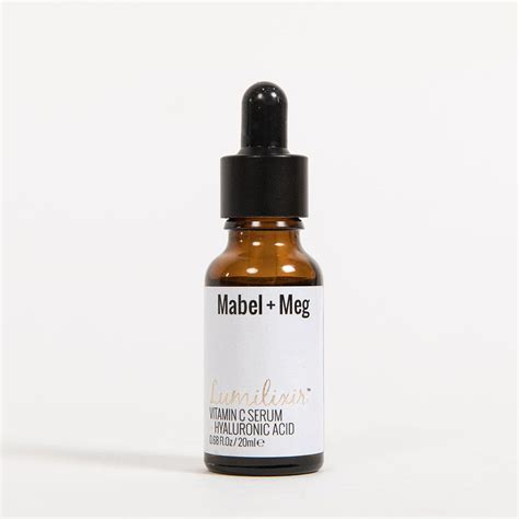 Mabel Meg Lumilixir Serum lumilixir vitamin c and hyaluronic acid serum mabel