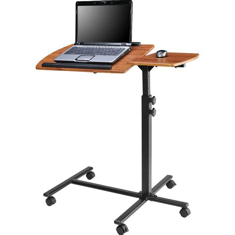 height adjustable laptop desk adjustable height laptop computer standing desk cart with