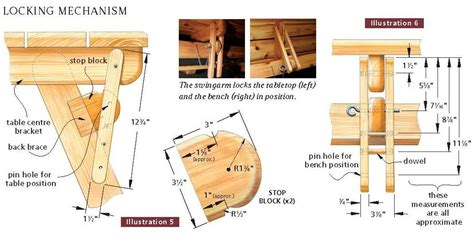 picnic bench plans free wood craft desain and project this is picnic table plans