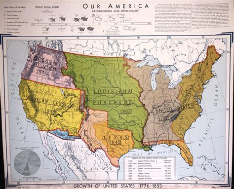map of the united states in 1776 map growth of united states 1776 1853 nosillysuffix