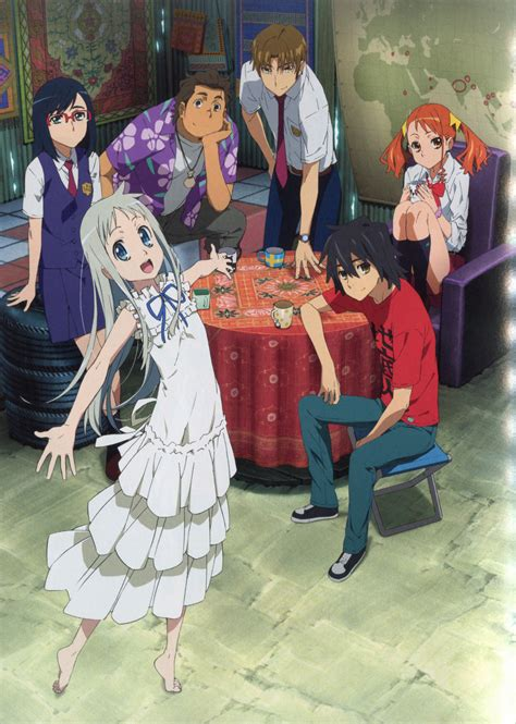 anime anohana anohana the flower we saw that day jagoda