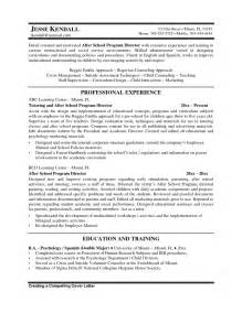 education administrator resume sales administrator