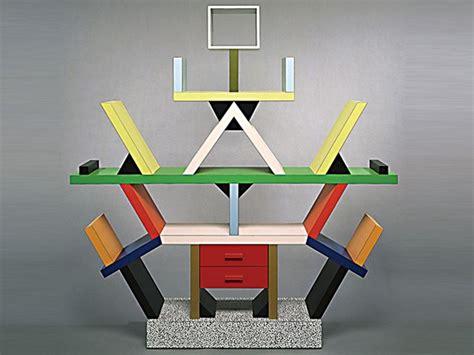 arredamento postmoderno il design postmoderno in italia