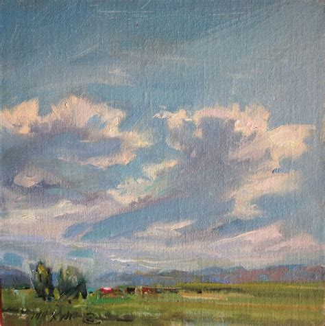 painting montana maxam paintings big sky skyscape of montana