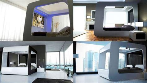 bed with tv bedroom amazing futuristic bedrooms exclusive futuristic