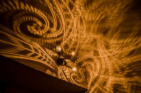 pattern light en español artist drills coconuts into ls that shine gorgeous