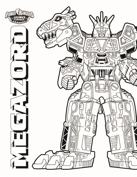 Megazord Coloring Pages 25 best ideas about power rangers coloring pages on