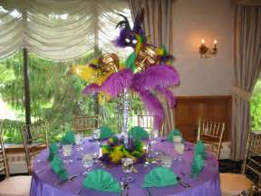 custom mardi gras themed centerpieces for a special s