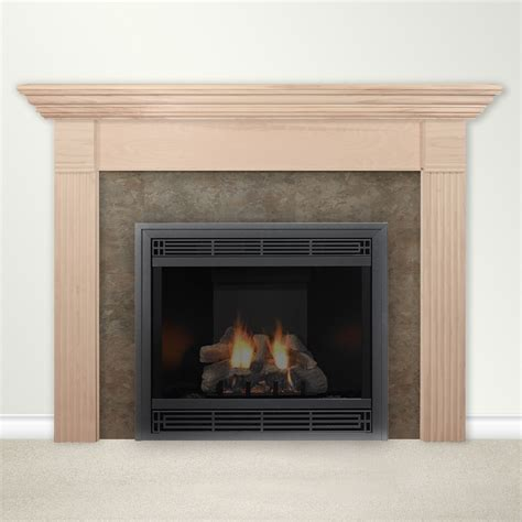 housewarmer fireplace mantel surround with shelf ebay