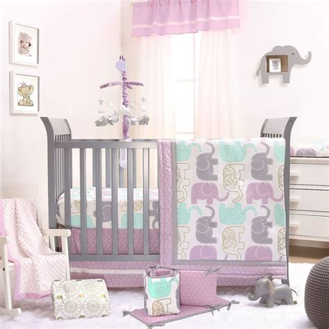 Purple Elephant Crib Bedding 25 Best Ideas About Elephant Crib Bedding On Elephant Nursery Boy Elephant Baby