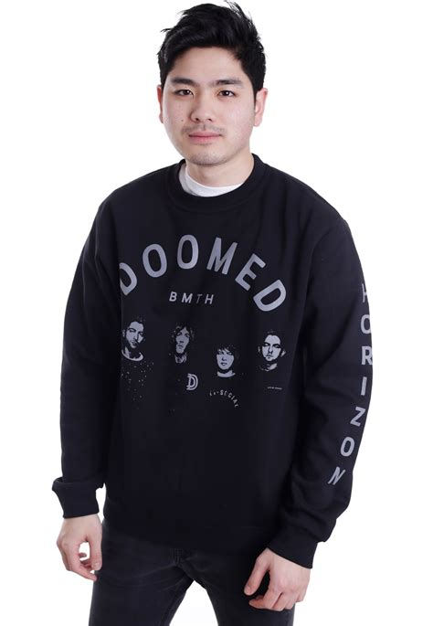 Sweater Bring Me The Horizon Redmerch bring me the horizon doomed sweater impericon nl