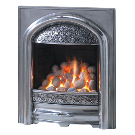 pureglow juliet slimline gas black polished or