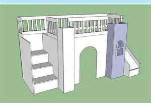 Castle Bunk Bed Plans White Castle Loft Bed Diy Projects